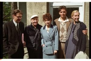 09.05.1995 Warszawa Plan filmu Wielki Tydzien rez. Andrzej WajdaFot. Jerzy Gumowski